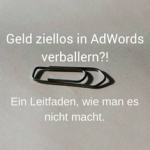 Geld in AdWords